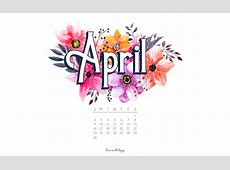 APRIL 2017 CALENDAR + TECH PRETTIES Dawn Nicole Designs®