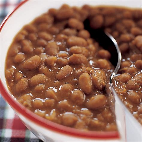 cooker baked beans slow cooked boston baked beans recipe dishmaps