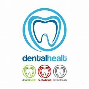 Dental healt circle logo vector set 01 - Vector Logo free ...