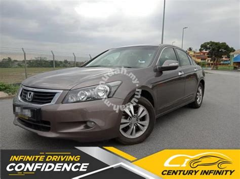 Since then i was involved in a accident, both my adjuster john thompson & infinity ins. 2010 Honda ACCORD 2.0 VTiL ELECTRIC BLACK L.SEAT - Cars for sale in Cheras, Kuala Lumpur - Mudah.my