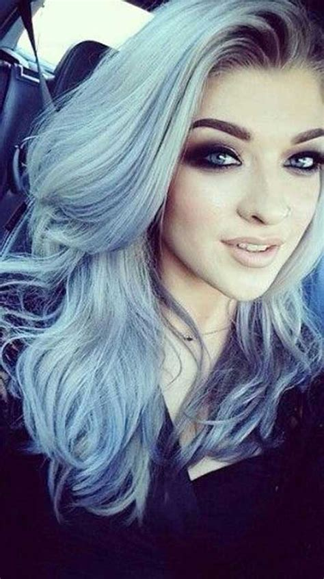 light blue hair dye 15 different hair color hairstyles 2016 2017