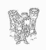 Castle3 Coloring Pages sketch template