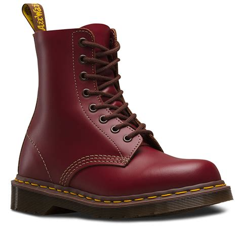 dr martens    england black oxblood red leather     boots ebay