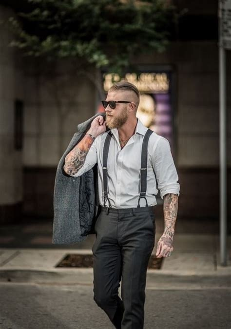 Hot Men Wear Suspenders The Fashion Tag Blog