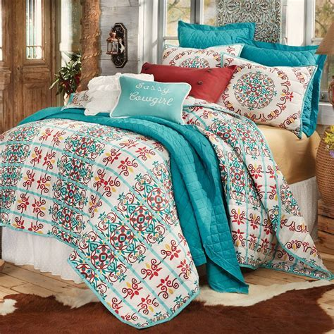 Talavera Quilt Bed Set   Full/Queen