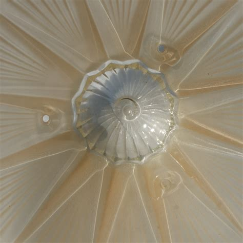 10 quot deco glass ceiling light shades ebay