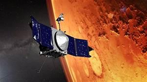 MAVEN spacecraft shrinking its Mars orbit to prepare for ...