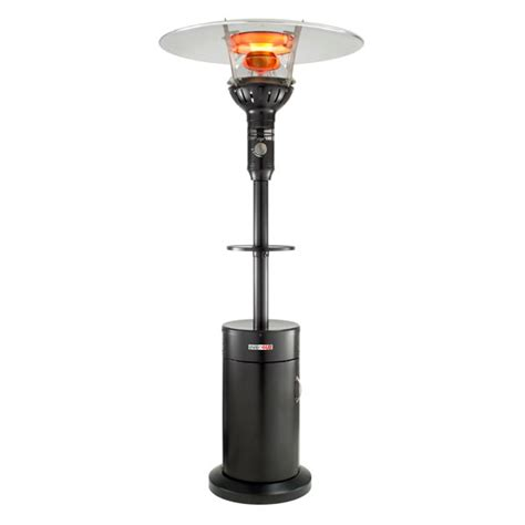 evenglo portable lpg patio heater black western