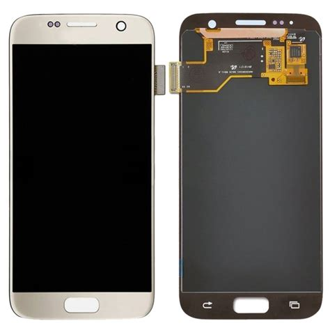 replacement samsung galaxy s7 g930 lcd display touch screen digitizer assembly gold alex nld