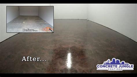 pearlescent epoxy garage youtube