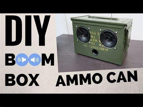 diy ammo  bluetooth boombox youtube car audio