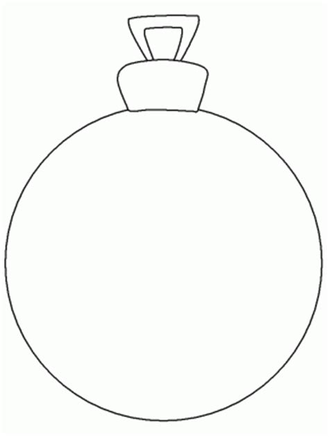 Whoville Christmas Tree Ornaments by Ornament Christmas Coloring Pages