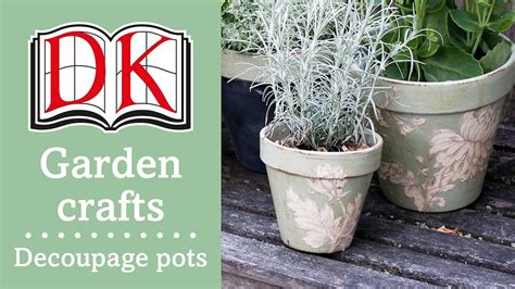 Garden Decoration Pots by Garden Ideas Decorating Terracotta Pots With Decoupage