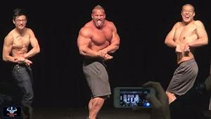 Jay Cutler Posedown With 2 Gay Fans At L A  Fit Expo 2014