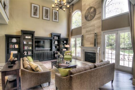 story great room  stunning fireplace dream home
