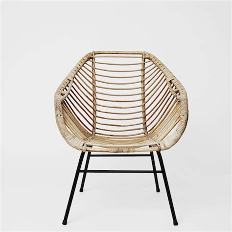 Fauteuil Papasan by Rattan Chairs The Long Table
