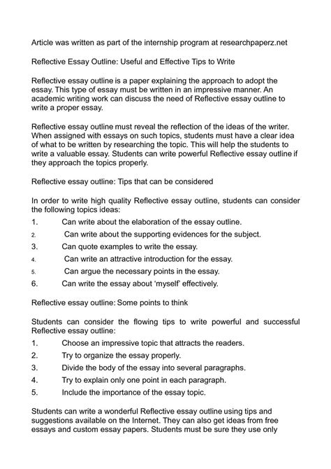 essay   outline template thatsnotus