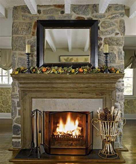How To Design A Fireplace Mantel - decorating mantels bloggerluv