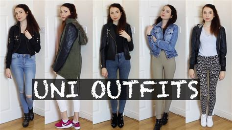 November 2017 OOTW Lookbook Everyday Uni Outfits Autumn / Fall - YouTube
