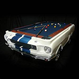 1965 Shelby GT 350 Pool Table - The Green Head