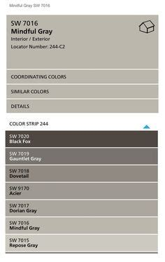 sherwin williams mindful gray color spotlight the creativity exchange paint colors