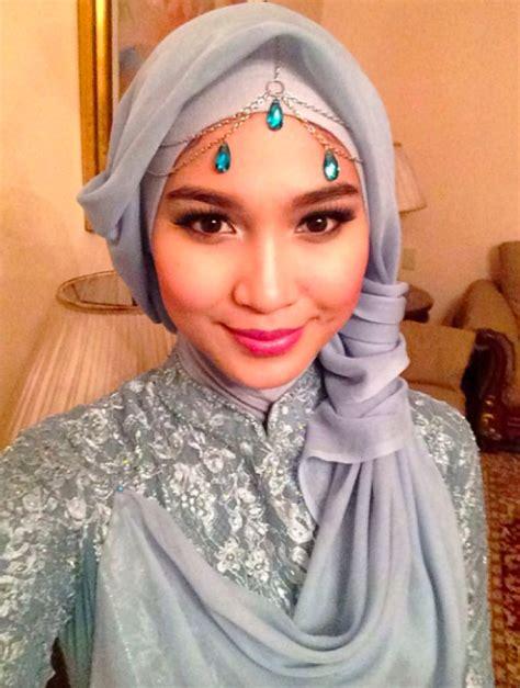 gaya hijab putri cantik mantan gubernur aceh dreamcoid