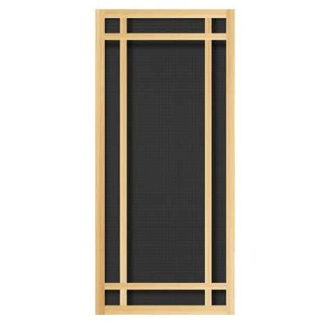 home depot wooden screen doors unique home designs durango 36 in x 80 in unfinished