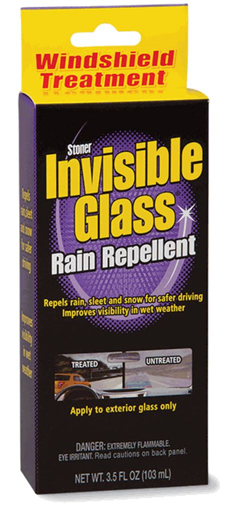 Boat Windshield Treatment by Stoner Invisible Glass Repellent Windshield Treatment