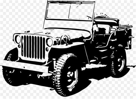 jeep wrangler silhouette   clip art
