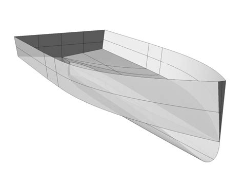Fast V Hull Boats by Hull Design For A Small Displacement Boat Boat Design Net