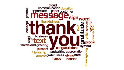 Thank You Wallpaper Animated - thank you stock footage