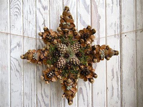 Pretty Tree Toppers by Pine Cone Tree Topper Would Be Pretty Just To Hang Or