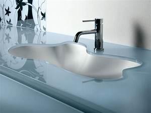 meuble vasque verre With meuble salle de bain vasque en verre trempé