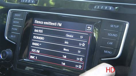 vw navigation discover media volkswagen golf vii infotainment discover media test