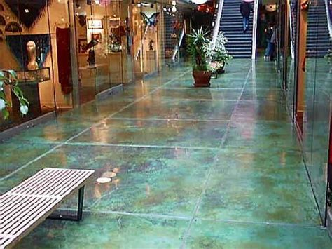 aqua floor aqua blue stained concrete floor flooring pinterest
