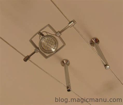 spots pour cuisine spots à led sur câbles