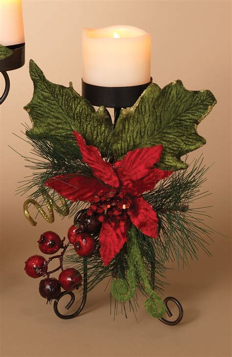 christmas candle holders metal candle holder centerpiece