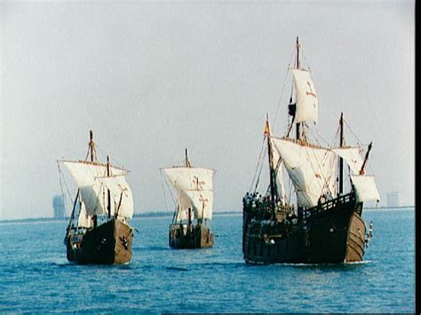 Christopher Columbus Boat Jesus by Our Lady Of Guadalupe And The Providential Connection To
