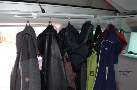 Kleiderstange 90 Cm by Vw T5 T6 California Cingzubeh 246 R Kleiderstange Mit 6