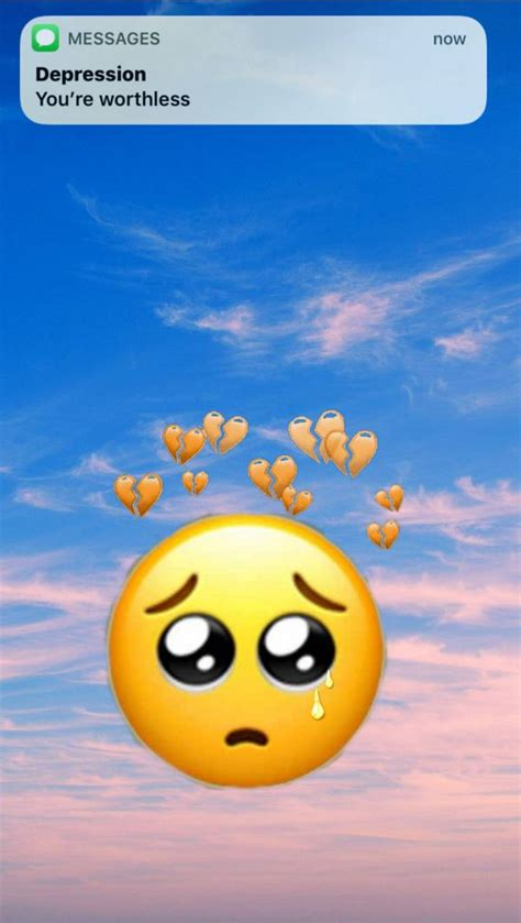emojis sad wallpapers wallpaper cave