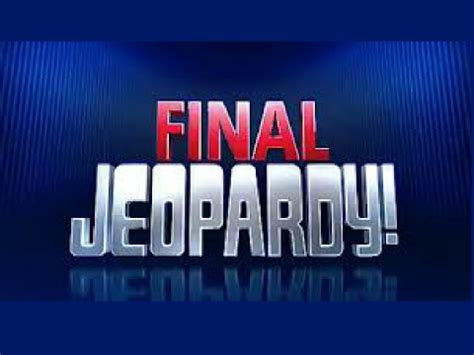 jeopardy sound clip   clip art images clipartlook