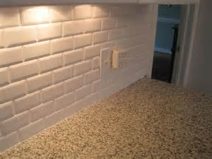 backsplash tiles for kitchens beveled subway tile new kitchen