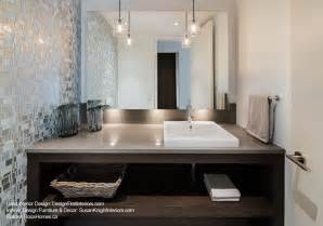 custom canal condo contemporary powder room ottawa by design first interiors