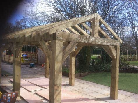 carport gazebo details about wooden garden shelter structure gazebo