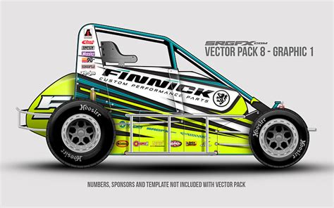 race car graphics design templates vector racing graphics pack 8 srgfx