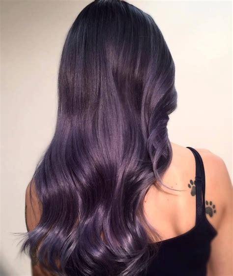 Silverpurpleblue Lavender Hues Hair Hair Hair