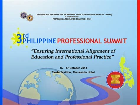 philippine professional summit ensuring international