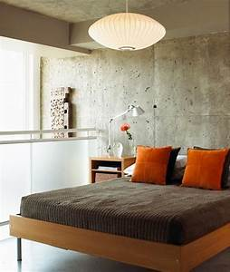 20, Bold, Bedroom, Designs, With, Concrete, Walls