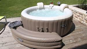 Spa Gonflable Intex Gifi : le spa pure spa bulles 28404 youtube ~ Dailycaller-alerts.com Idées de Décoration