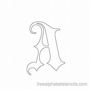 best 25 gothic alphabet ideas on pinterest With black letter stencils